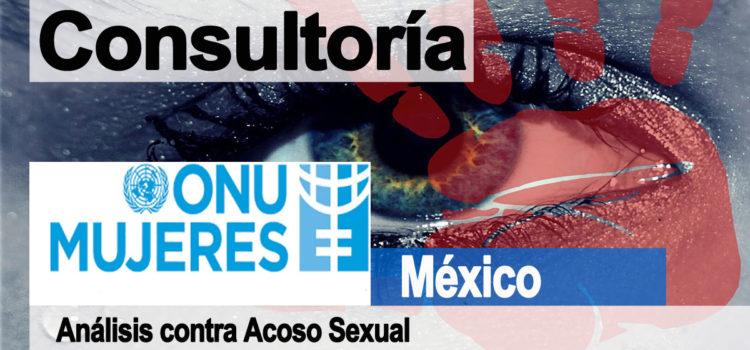 Consultoría en acoso sexual – ONU Mujeres