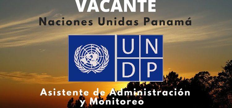 Naciones Unidas – PNUD en Panamá abre vacante laboral
