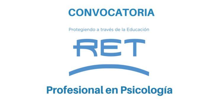 RET busca profesional de Psicología en Ecuador
