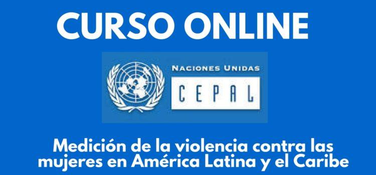 Curso virtual sobre la medición de la violencia contra las mujeres en América Latina y el Caribe – Dictado por la CEPAL