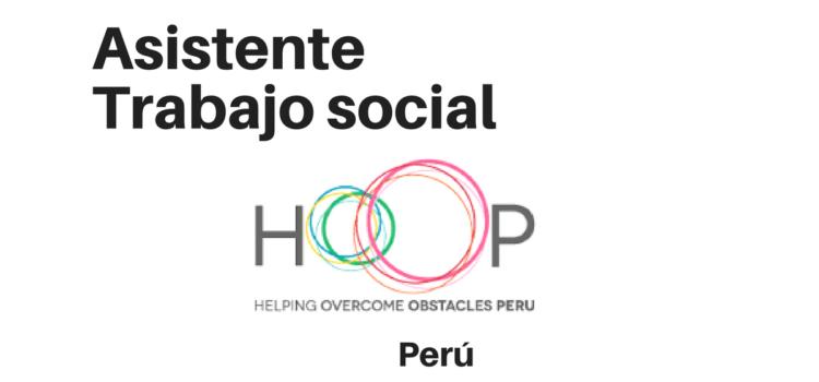 Pasantía para HOOP Perú – ONG internacional