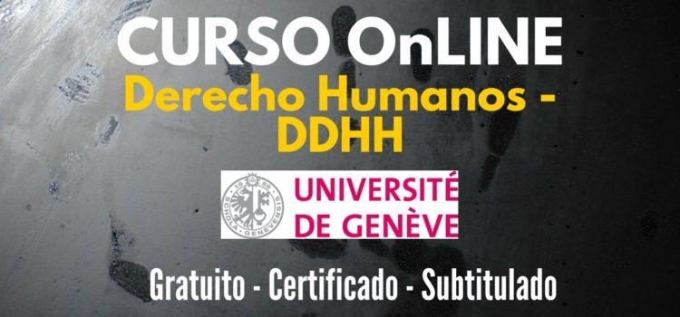 Curso online y gratuito sobre Derechos Humanos – Universidad de Ginebra