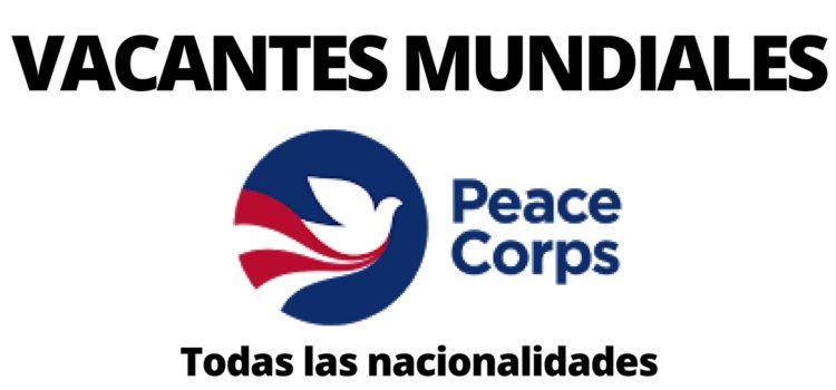 Convocatoria abierta con Peace Corp