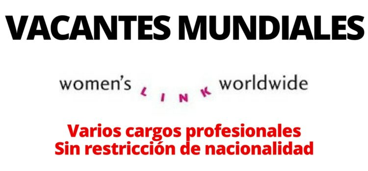 Convocatorias con Women´s Link Worldwide