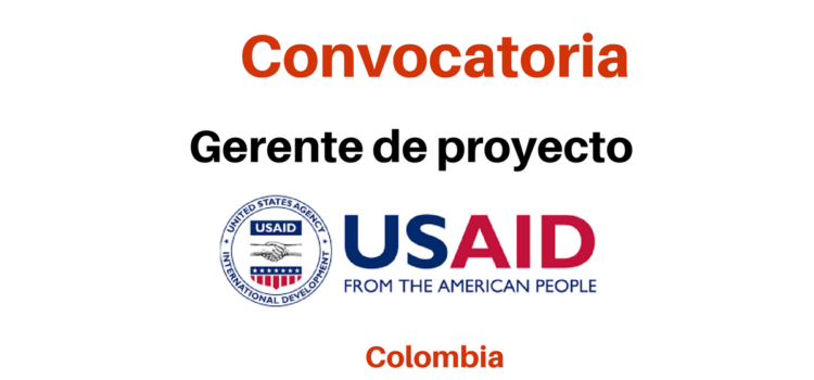 Convocatoria Gerente de Proyecto USAID