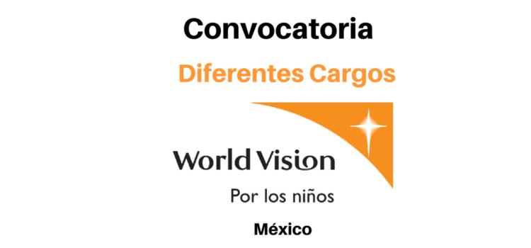 Vacantes diferentes cargos World Vision