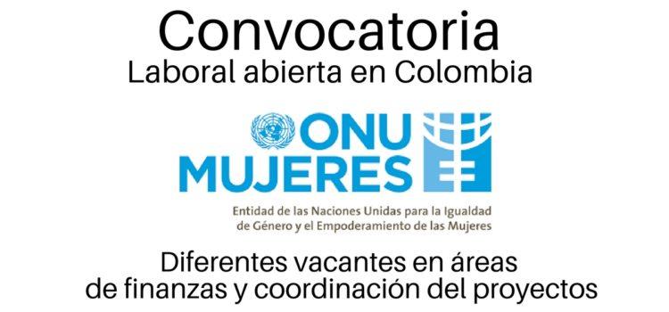 ONU Mujeres abre convocatorias laborales en Colombia