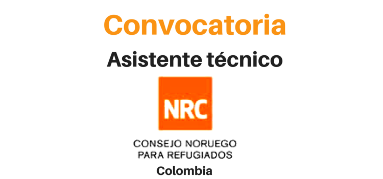Convocatoria Asistente técnico NRC