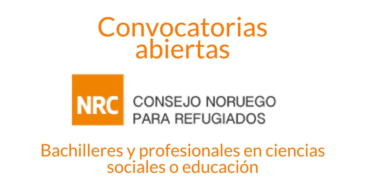 Convocatorias de trabajo con NRC