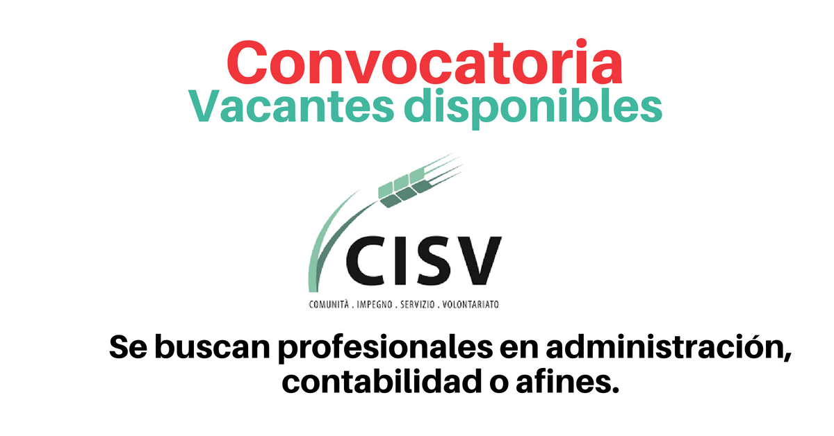 Trabaja con CISV