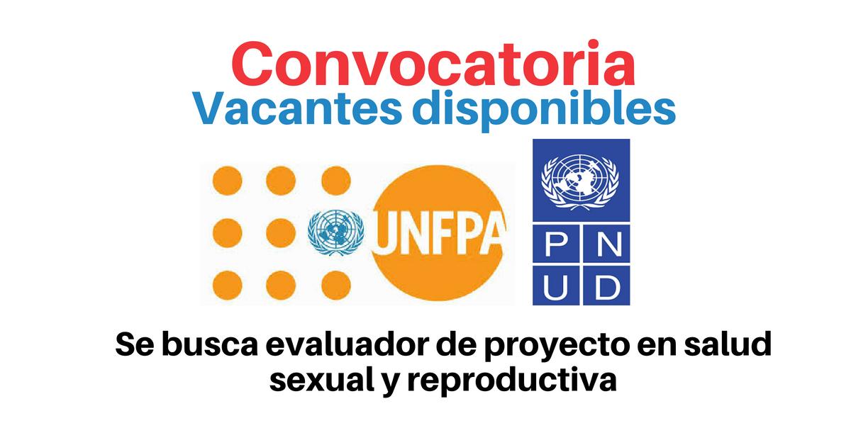 Vacantes con UNFPA y PNUD