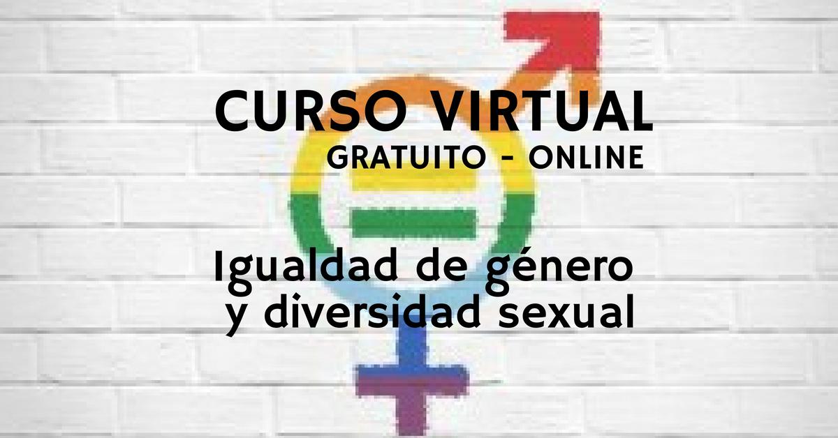 Curso sobre igualdad de género y diversidad sexual