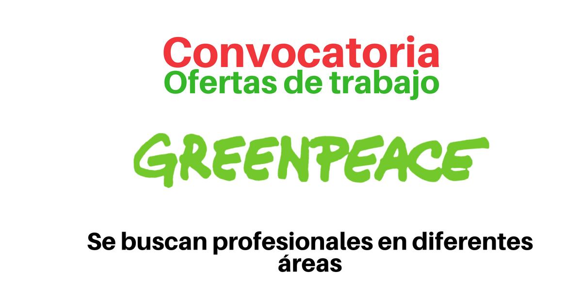 Vacantes con Greenpeace