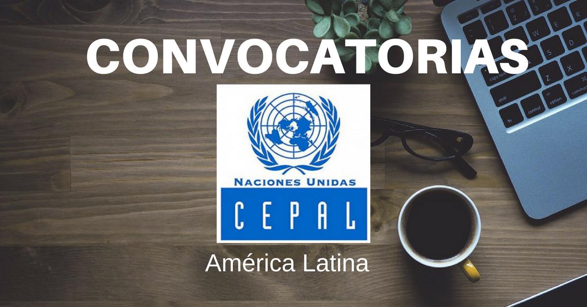 Oportunidades de empleo en CEPAL
