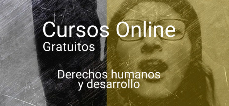 Cursos online gratuitos sobre DDHH