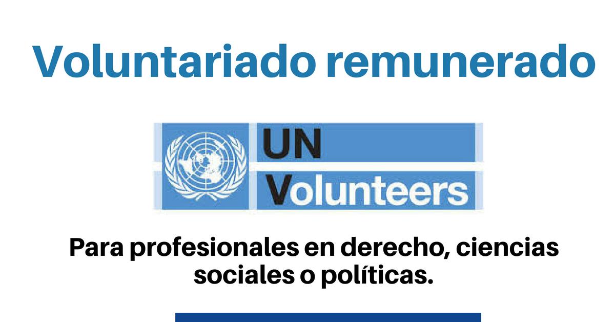 Voluntariados con Naciones Unidas