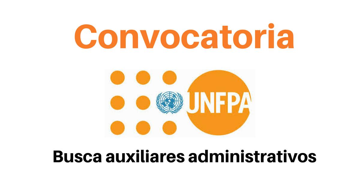 Vacantes con el UNFPA