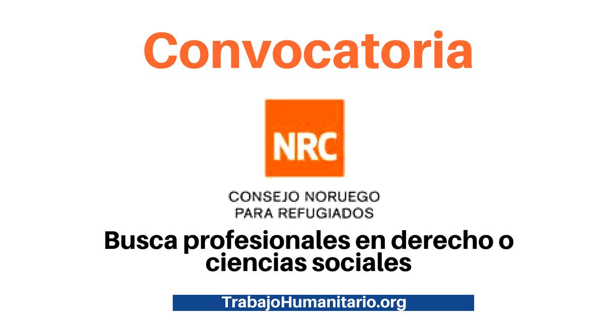 Vacantes con el NRC