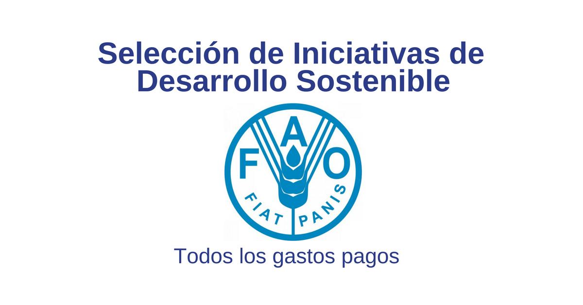 Nueva convocatoria de la FAO