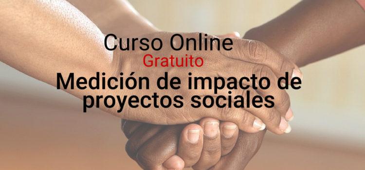 Curso online: impacto de proyectos sociales