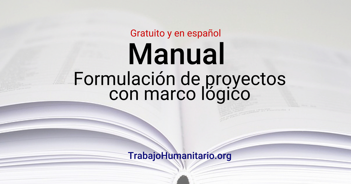CEPAL: Formulación de proyectos con marco lógico – en Español y gratuito
