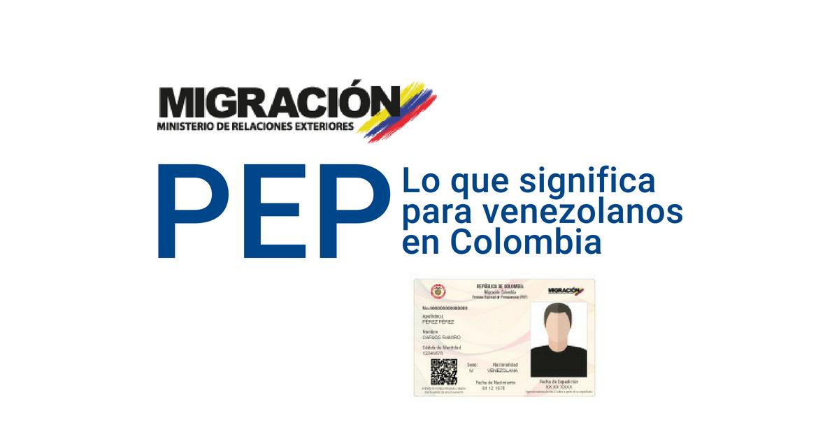 Todo sobre el NUEVO permiso el especial de permanencia en Colombia
