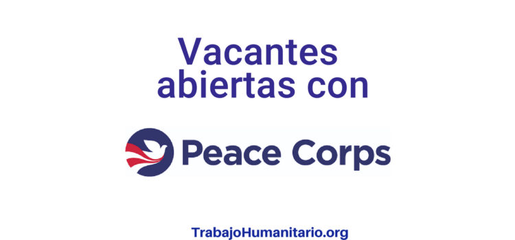 Convocatorias con Peace Corps