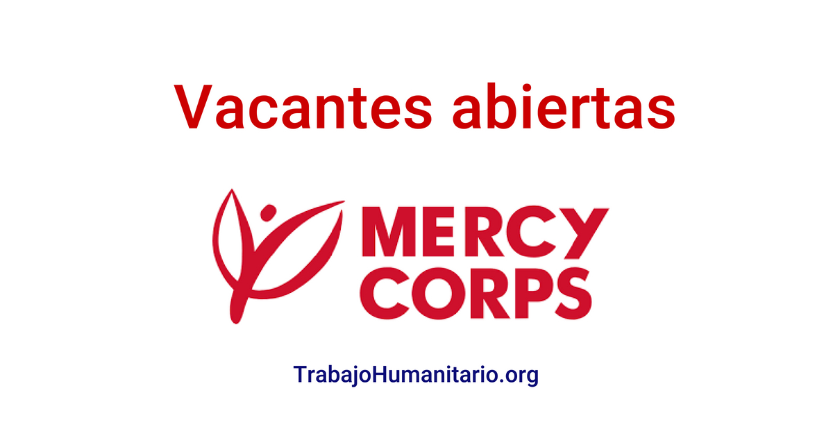 Vacantes con Mercy Corps