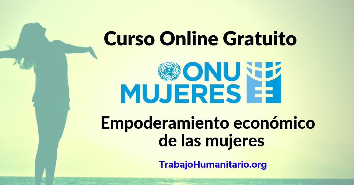 Curso Online Empoderamiento económico de las mujeres ONU MUJERES