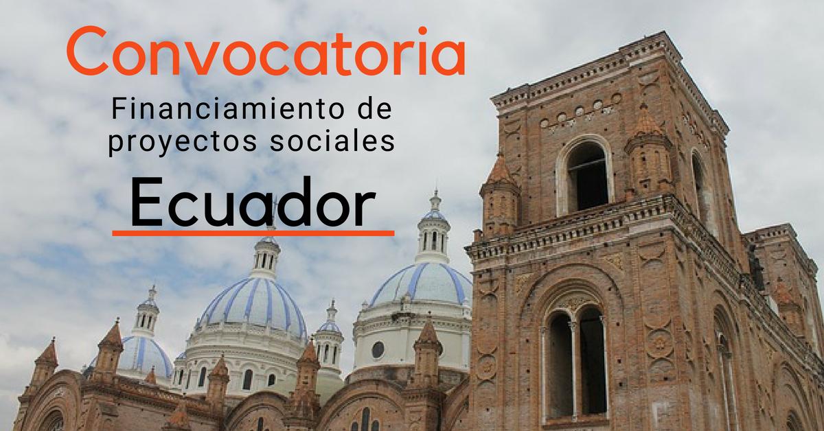 Financiamiento a programas sociales y de equidad de género en Ecuador