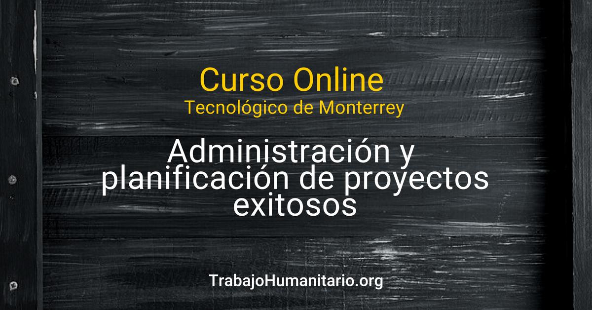 Curso online con el Tecnológico de Monterrey