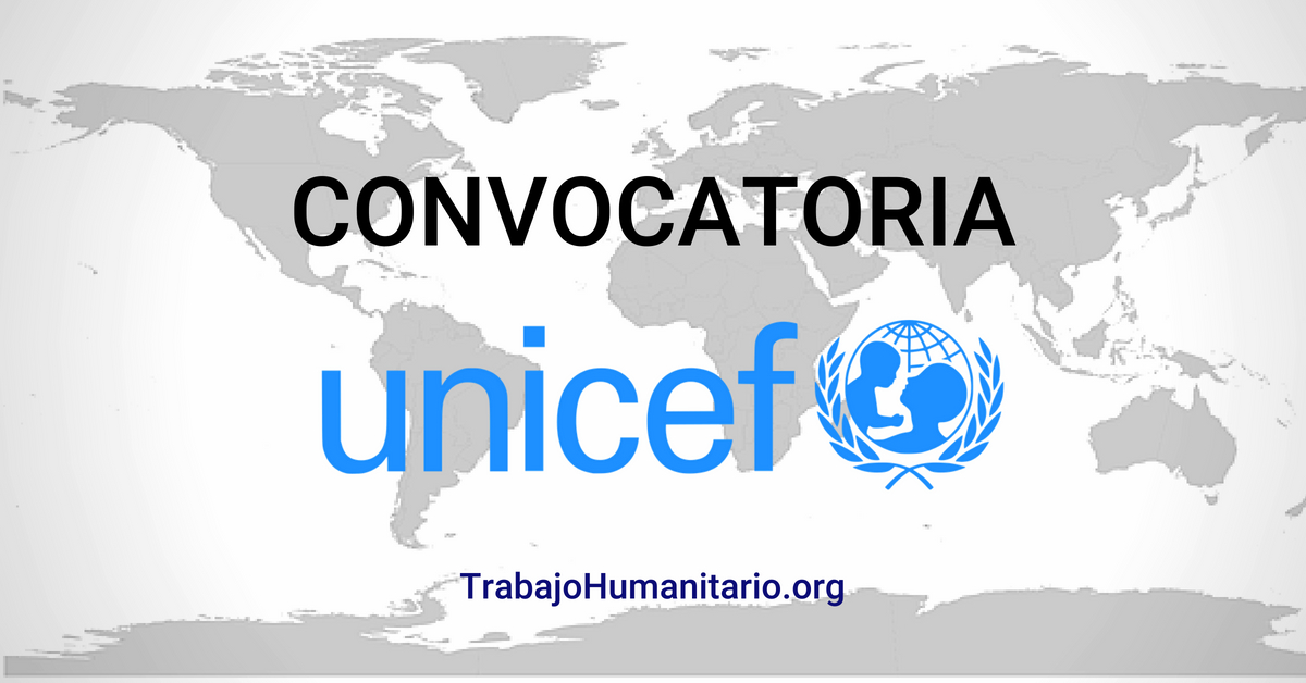 Convocatorias en UNICEF Colombia