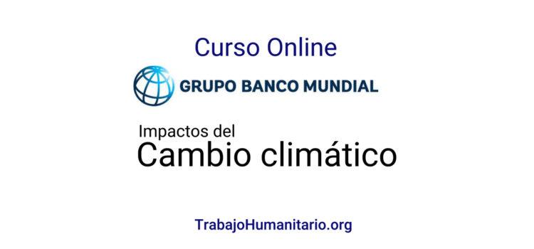 Curso online gratuito sobre cambio climático