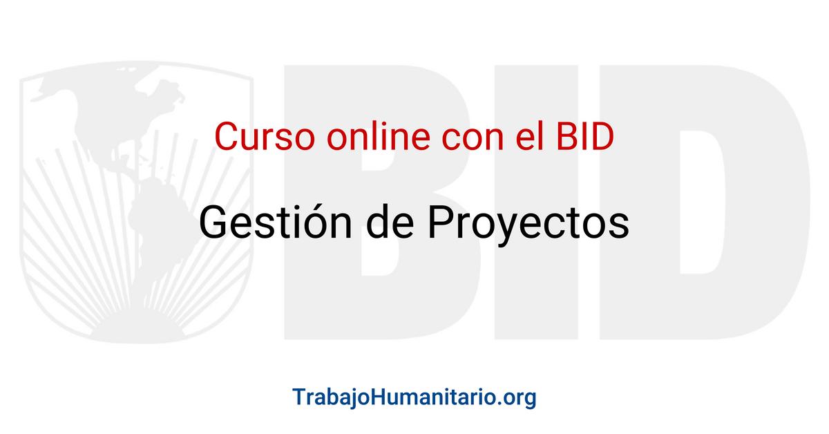 Curso online y gratuito con el BID