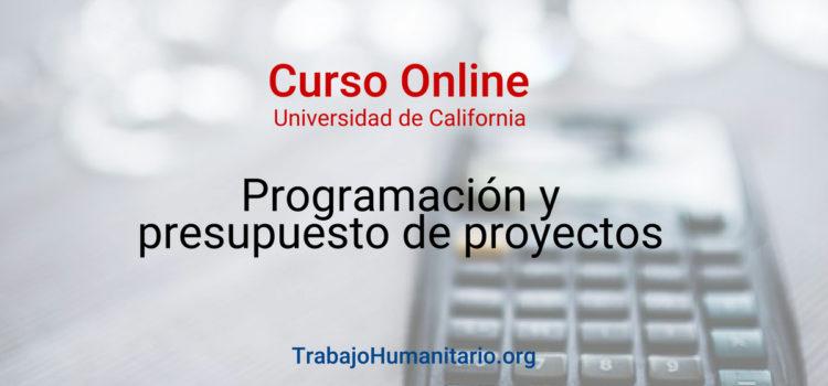 Curso online: presupuestos para proyectos