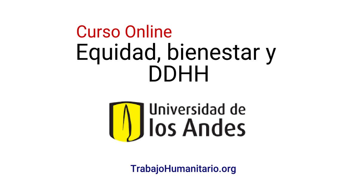 Universidad de los Andes: Curso online gratuito sobre DDHH