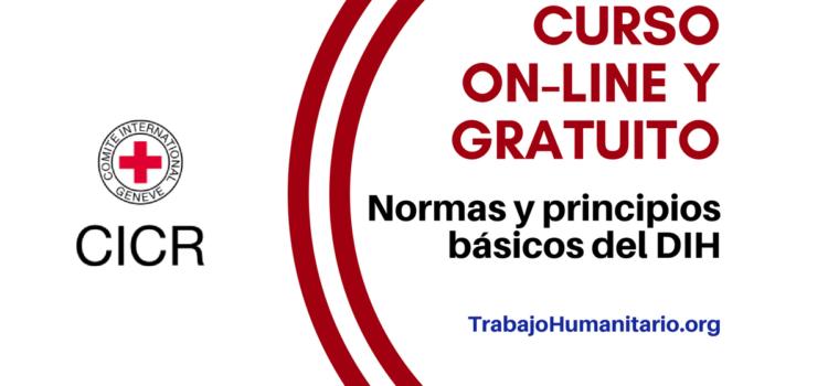 Curso online gratuito : normas y principios básicos DIH – CICR