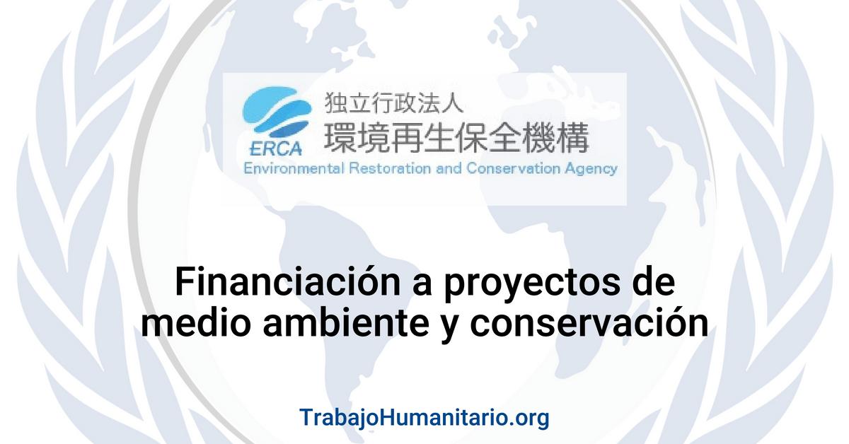 Financiación a proyectos de medio ambiente