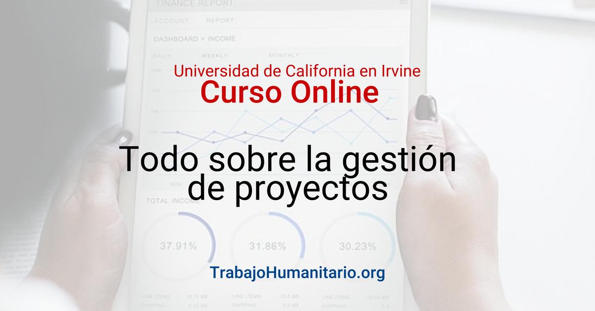 Cursos contenido gratuitos online en gestión de proyectos