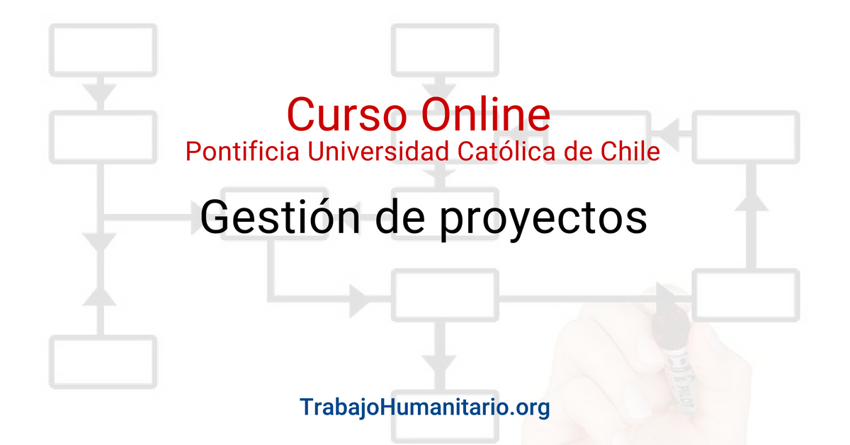 Curso online sobre Gestión de proyectos