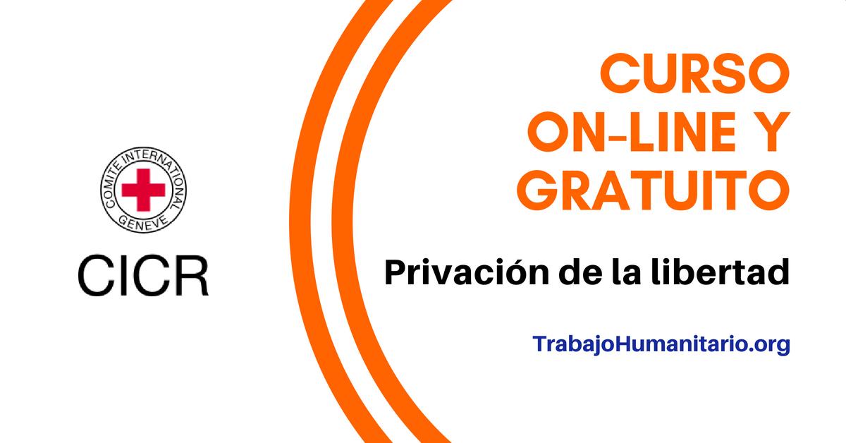 Curso online sobre la privación de libertad CICR