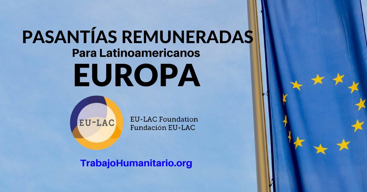 Pasantías Remuneradas para latinoamericanos en Europa