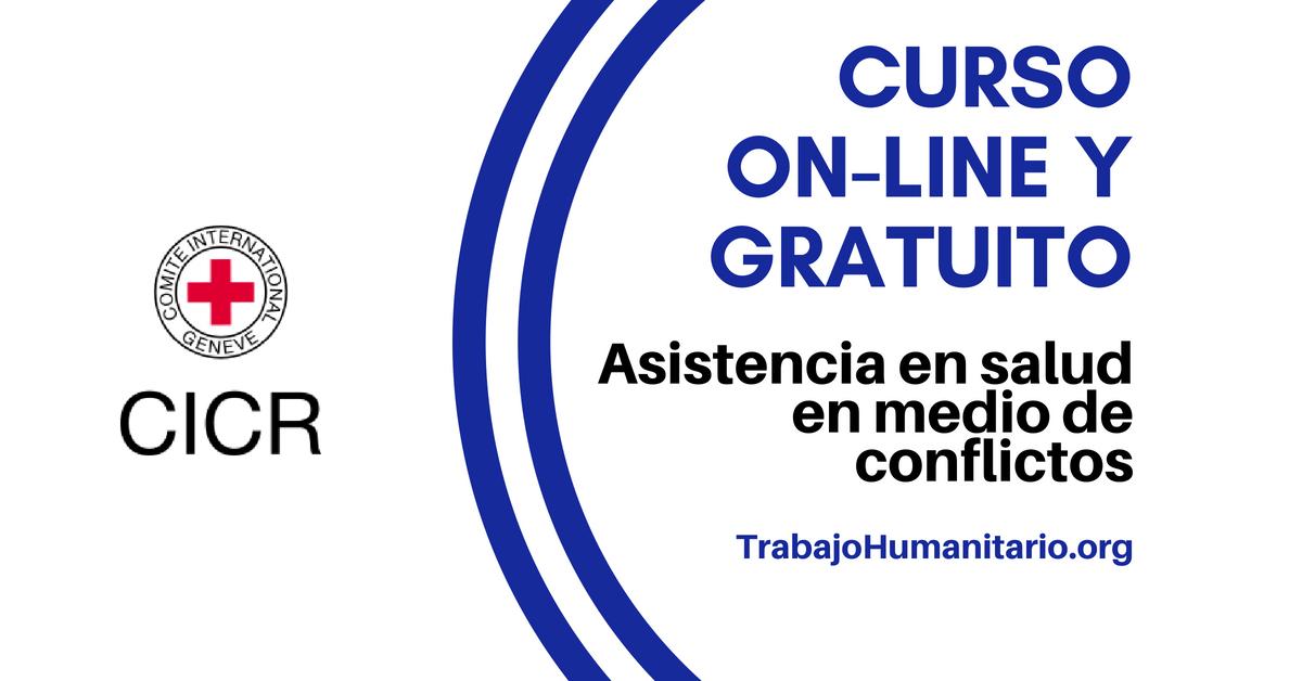 CICR: Curso online asistencia en salud en medio de conflictos