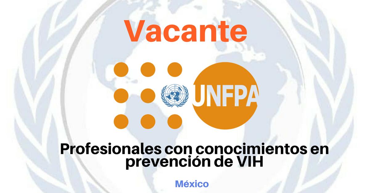 Oportunidad laboral con UNFPA
