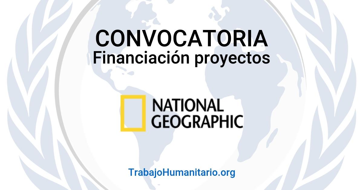 NatGeo financia tu proyecto de conservación