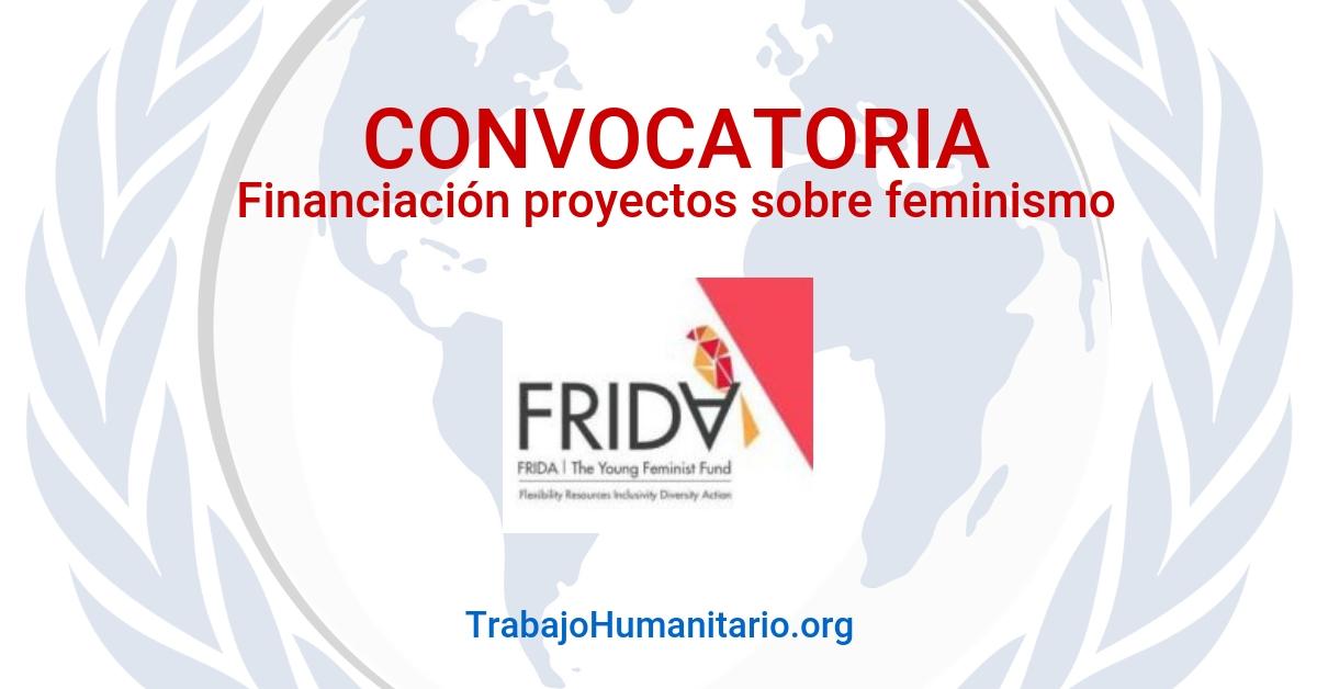 Frida: Fondo para Financiación de proyectos feministas