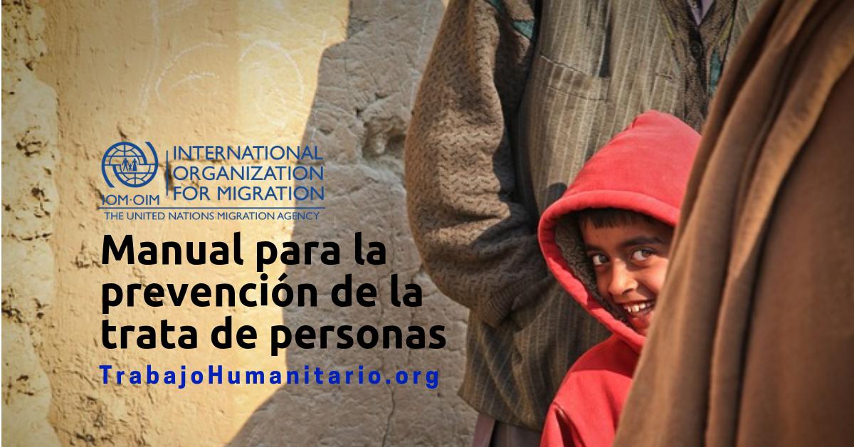 Manual gratuito y en español para la prevención de la trata de personas