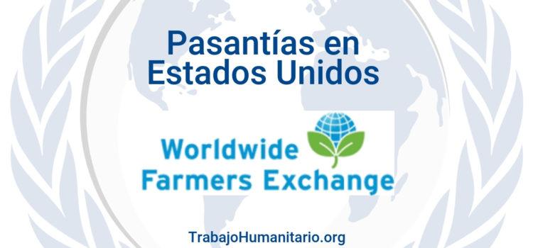 Pasantías remuneradas con Worldwide Farmers Exchange en USA