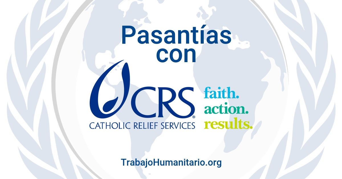 Pasantías con Catholic Relief Services