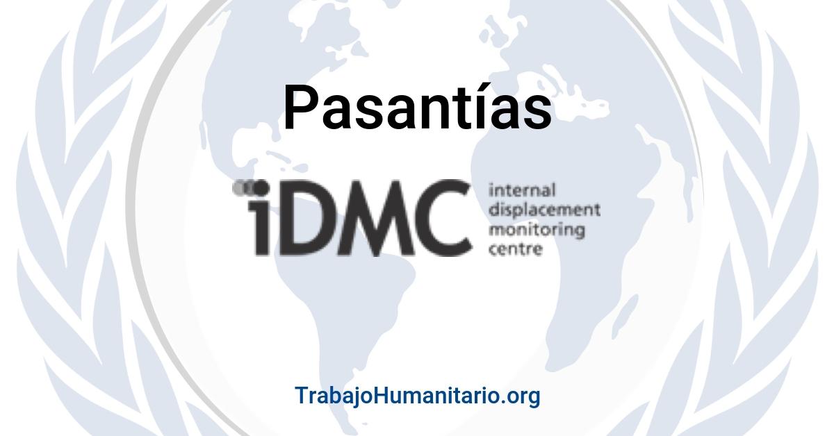 Pasantías con el Centro de monitorio de desplazamiento interno – Suiza